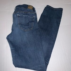 American Eagle Skinny Stretch Jeans size 10 long